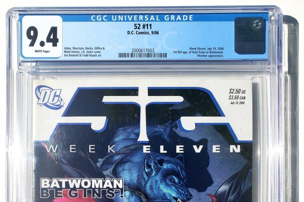 DC's New 52 #11, 1st Appearance of Kate Kane as Batwoman, CGC 9.4 Header