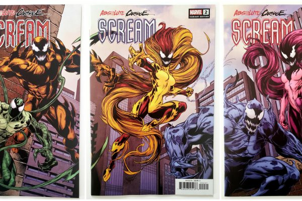 Absolute Carnage: Scream #1-#3, Mark Bagley Connecting Cover Set