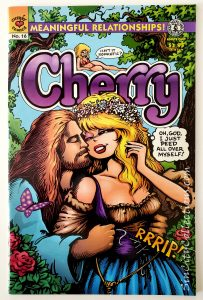 Cherry #16 (Kitchen Sink, Cherry Comics, '91) *ADULTS ONLY*, Mature Readers