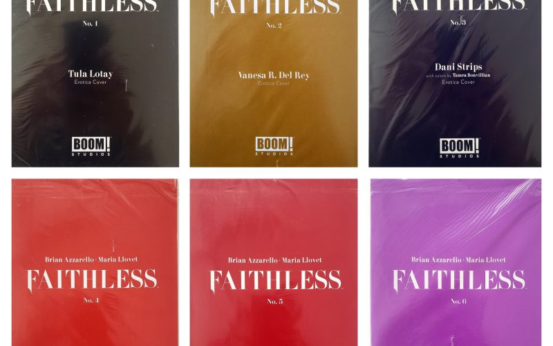 Faithless #1-6, Complete Erotic Variant Cover B Set From Boom! Studios