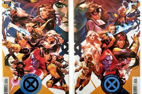 Connecting cover set from Yasmine Putri for House of X #2/Powers of X #2