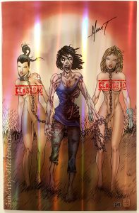 Notti & Nyce Vol. 2 #1 (Counterpoint Entertainment, '13) Marat Mychaels Walking Dead #19 Will's Bargains Prismachrome Exclusive Cover, No. 3 of 6