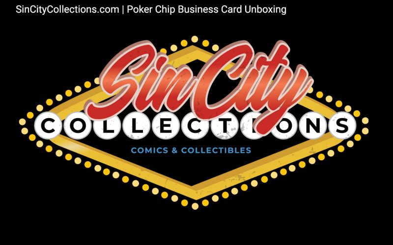 Sin City Collections | Poker Chip Business Card Unboxing Video