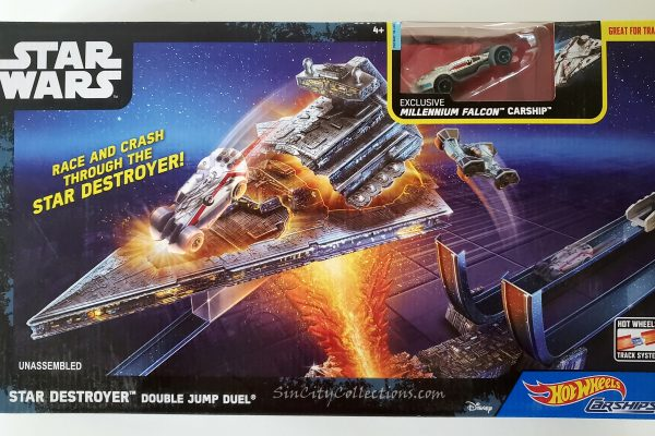 Mattel Star Wars Hot Wheels Star Destroyer Double Jump Duel
