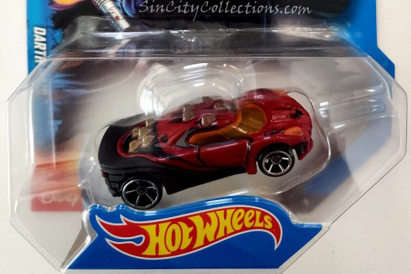 Mattel Star Wars Hot Wheels Darth Maul Car Header