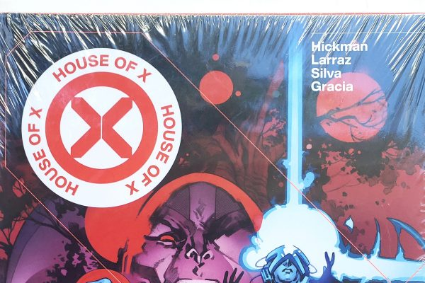 House of X/Powers of X Pepe Larraz Variant Hardcover, Collects House of X #1 - #6 AND Powers of X #1 - #6 Header