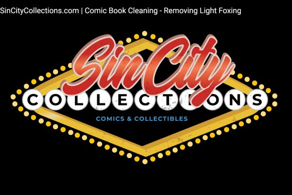 Sin City Collections | Comic Book Cleaning - Removing Light Foxing