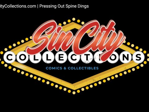 Sin City Collections | Comic Book Cleaning - Dealing with Spine Dings