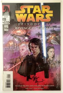 Dark Horse's Star Wars: Episode III - Revenge of the Sith Complete Set, #1 Signed by Dave Dorman through Dynamic Forces, Inc., #1083/5000