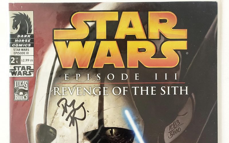 Dark Horse's Star Wars: Episode III - Revenge of the Sith Complete Set, Signed by Dave Dorman through Dynamic Forces, Inc., #1083/5000 Header