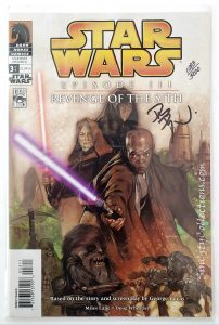 Dark Horse's Star Wars: Episode III - Revenge of the Sith Complete Set, #3 Signed by Dave Dorman through Dynamic Forces, Inc., #1083/5000