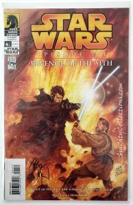 Dark Horse's Star Wars: Episode III - Revenge of the Sith Complete Set, #4 Signed by Dave Dorman through Dynamic Forces, Inc., #1083/5000
