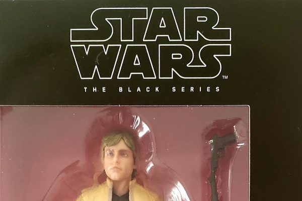 "Hasbro Star Wars Black Series 6"" #100 Luke SkywalkWER Error Variant Header"