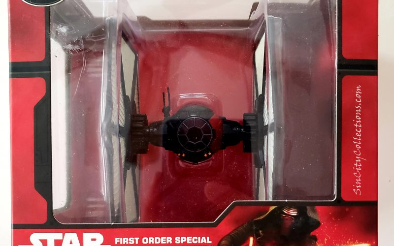 Star Wars Disney Store Exclusive First Order Special Forces TIE Fighter Die Cast Vehicle