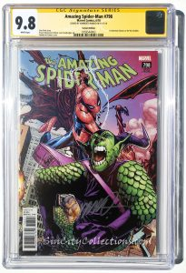 Amazing Spider-Man, Vol. 4, #798 (Marvel, '18) CGC SS 9.8 Signed by Humberto Ramos