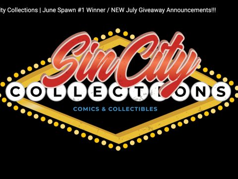Sin City Collections | June's Spawn #1 Giveaway Winner / NEW July Giveaway Announcements