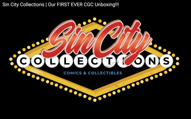 Sin City Collections   Our FIRST EVER CGC Unboxing!!! [July 22nd, 2020] Header