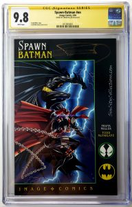 Spawn Batman #1 (Image, '94), CGC SS 9.8 Signed by Frank Miller