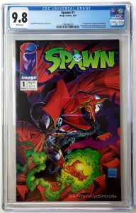 Spawn #1 (Image, '92), CGC 9.8 1st Appearance of Spawn