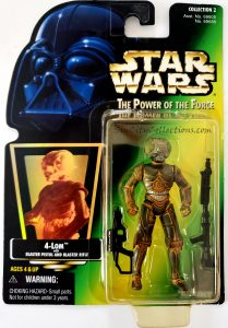 Star Wars, Power of the Force - 4-LOM (Holofoil)