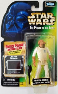 Star Wars, Power of the Force - Admiral Ackbar (Freeze Frame)