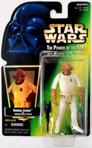 Star Wars, Power of the Force - Admiral Ackbar (Holofoil)