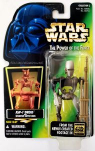 Star Wars, Power of the Force - ASP-7 Droid (Holofoil)