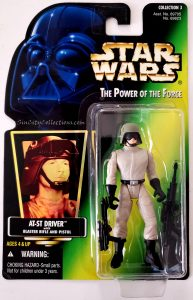 Star Wars, Power of the Force - AT-ST Driver (Holofoil)