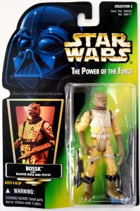Star Wars, Power of the Force - Bossk (Holofoil)