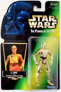 Star Wars, Power of the Force - C-3PO (Holofoil)