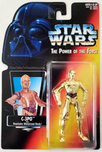 Star Wars, Power of the Force - C-3PO (Orange Card)