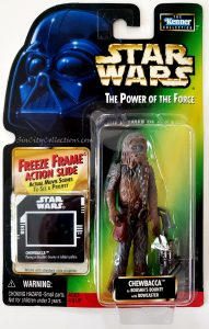Star Wars, Power of the Force - Chewbacca as Boushh's Bounty (Freeze Frame)