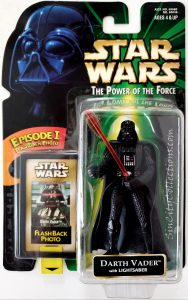 Star Wars, Power of the Force - Darth Vader (Flashback Photo)