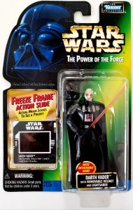 Star Wars, Power of the Force - Darth Vader with Removable Helmet (Freeze Frame)