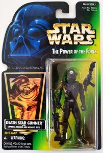 Star Wars, Power of the Force - Death Star Gunner (Holofoil)