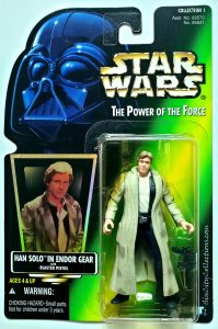 Star Wars, Power of the Force - Han Solo in Endor Gear (Holofoil, Blue Pants)