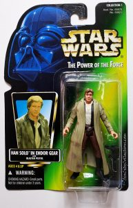 Star Wars, Power of the Force - Han Solo in Endor Gear (Holofoil, Brown Pants)
