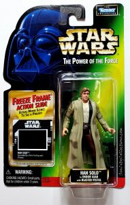 Star Wars, Power of the Force - Han Solo in Endor Gear (Freeze Frame, Brown Pants)