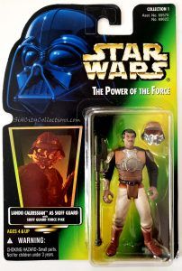 Star Wars, Power of the Force - Lando Calrissian as Skiff Guard (Holofoil)