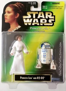 Star Wars, Power of the Force Princess Leia Collection - Princess Leia & R2-D2