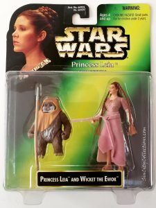 Star Wars, Power of the Force Princess Leia Collection - Princess Leia & Wicket the Ewok