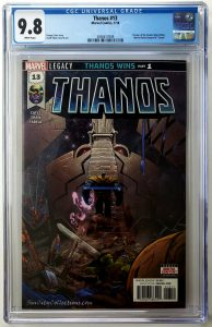 Thanos Vol. 2 #13 (Marvel, '18), CGC 9.8, 1st Appearance of the Cosmic Ghost Rider