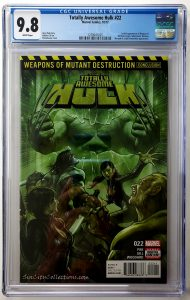 Totally Awesome Hulk #22 (Marvel, '17), CGC 9.8, 1st App of Weapon H