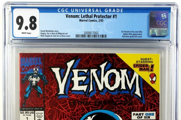Venom: Lethal Protector #1 (Marvel, '93), 1st Appearance of Venom in His Own Series, CGC 9.6