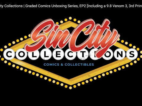 Sin City Collections | Graded Comics Unboxing Series, EP2 [Including a 9.8 Venom 3, 3rd Print!]